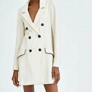 NWOT Zara Long Blazer